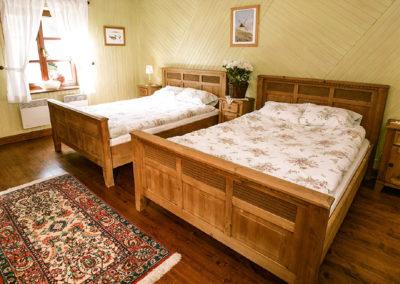 sypialnia dwa łóżka