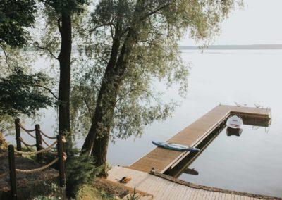 pomost-jezioro-gołdapiwo-mazury