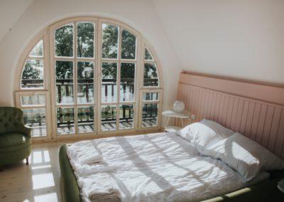 sypialnia-dom-nad-jeziorem-gołdapiwo